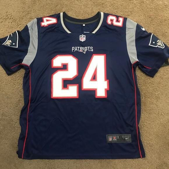 Stephon Gilmore New England Patriots Jersey Mens